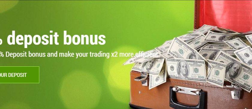 100 deposit bonus forex broker